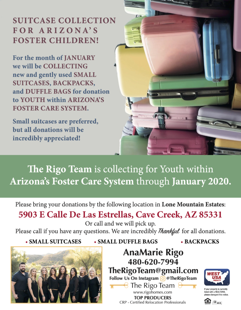 Donations to Children in Foster Care