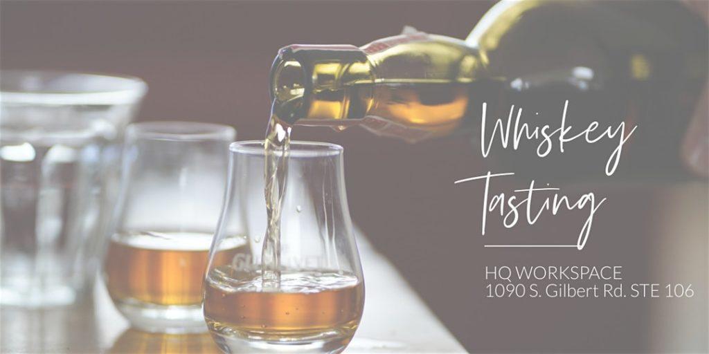 Gilbert Whiskey Tasting